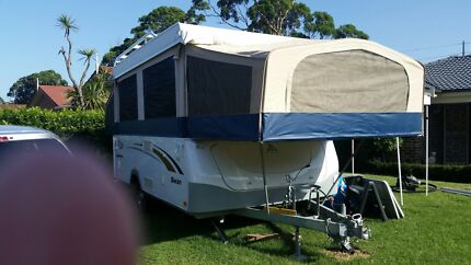 Jayco Swan 2010 model camper trailer in great condition Tarrawanna Wollongong Area Preview