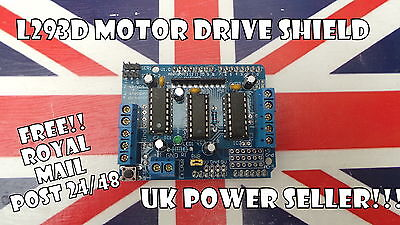 New L293D Motor Drive Shield for Arduino UNO Mega Due UK stock