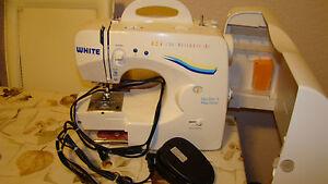 white 1740 sewing machine