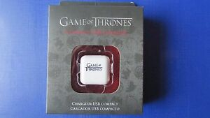 Game of Thrones USB Wall Charger Apple iPhone & iPod by Gear 4 USA Version BNIB