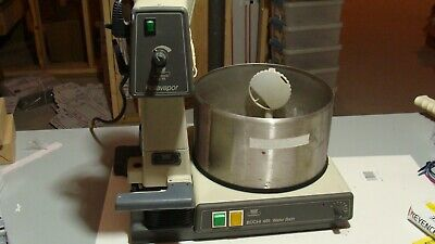 Brinkman Buchi Re111 Rotavapor W 461 Heated Water Bath Good Working Condition