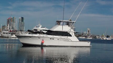 "BERTRAM 46 SPORTSFISHER ""EAGLE 1""  Moored SOUTHPORT YACHT CLUB Main Beach Gold Coast City Preview"