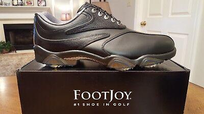 2013 Footjoy Synr-G Mens Golf Shoes 53891 NEW Black 12M $229 Ret  -