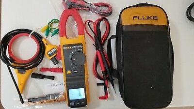 Used Fluke 381 True-rms Acdc Clamp Meter With Iflex More Sn 32100009ws