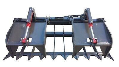 72 Hd Root Grapple Fits Bobcat And All Skidsteer With Quick Attach Hook-up
