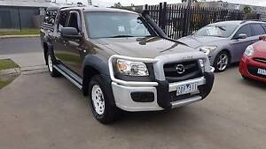 2008 Mazda BT-50 Duel Cab Ute AUTO TURBO DIESEL 4x4 Williamstown North Hobsons Bay Area Preview