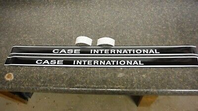 Case International Model 255 Compact Tractor Hood Decals. See Details Pictures
