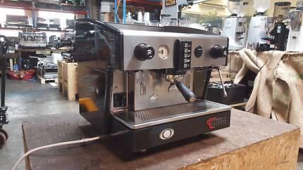COFFEE MACHINE ESPRESSO 1 GROUP WEGA ATLAS EVD USED SHIMMER BLACK
