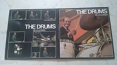 JO JONES The Drums *RARE JAZZ ODYSSEY DOLP*MADE IN FRANCE*BOOKLET*