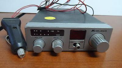 Midland 40 Channel Cb Radio Model 77-103