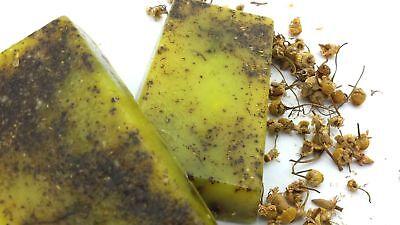 Jabon Glicerina 100% Natural Camomila Manzanilla 100Gr Hand Made Soap