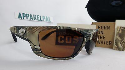 a9a7199db685a New Costa Del Mar Fisch Polarized Sunglasses 580P Realtree AP Camo Copper  Hunt