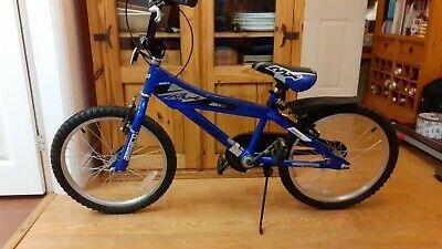 Children's 20 Inch Blue Bike - Inc. matching helmet - Approx Ages 6 - 9