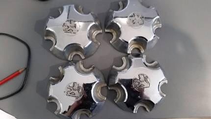 VB to VZ Holden Commodore Chaser Chrome Wheel Centre Caps