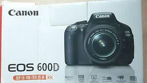 Canon EOS 600D + 18-55mm and 50mm lens and accessories Kingsford Eastern Suburbs Preview