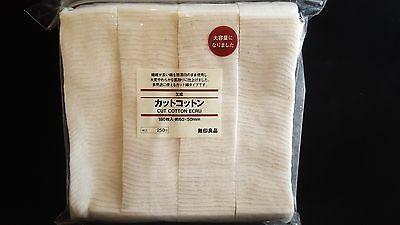 Muji-Watte-Pads - Original Japan Watte ungebleicht 25 Stück