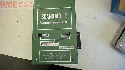 APPALACHIAN ELECTRIC 7992 SCANNAIR 8 PHOTOTRONIC MONITORING SYSTEM