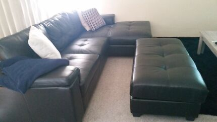 Lounge with detachable ottoman  North Adelaide Adelaide City Preview