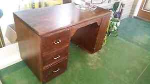 Office study desk wooden and chair Kelmscott Armadale Area Preview