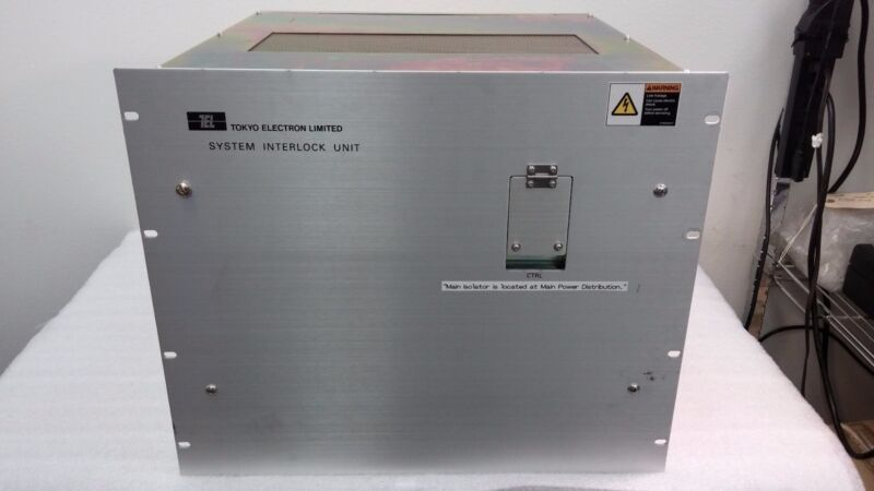 Tel Tokyo Electron 3m87-021476-12 System Interlock Unit 01nuc-0012-0036