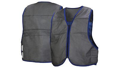 Pyramex Evaporative Cooling Vest Gray Cooling Vest Adjustable Sizes M-5xl