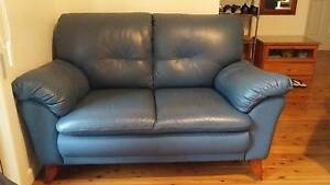 2x1 leather sofa Thornleigh Hornsby Area Preview