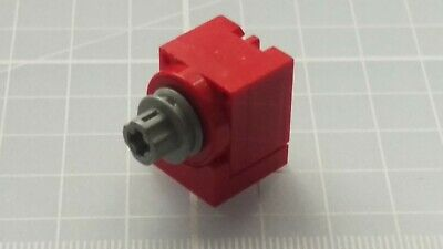 LEGO Red 9v Micro Motor 2983 Pulley 2984 Cover 2985 Base Lot Micromotor Rare New