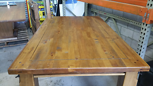 Rustic Industrial Timber Indoor Outdoor Dining Table - Nearly Yarrawonga Palmerston Area Preview