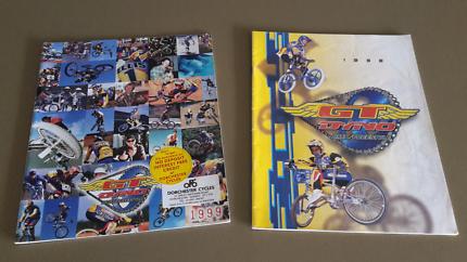 98 & 99 GT BMX Dyno Catelogue's