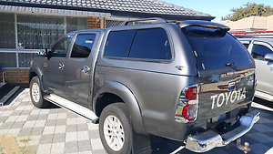 Toyota Hilux Canopy duel cab 2005 to 2015 East Cannington Canning Area Preview