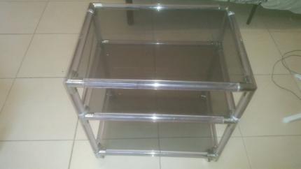 3 Shelf Glass Unit