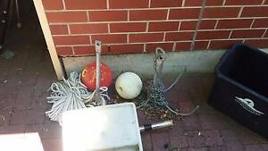 2 spare anchors chain and rope Grange Charles Sturt Area Preview