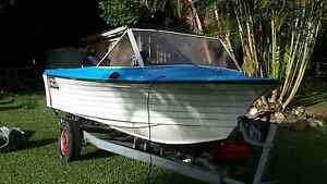 4.5 mtr RUNABOUT 50HP MERCURY Tallebudgera Gold Coast South Preview