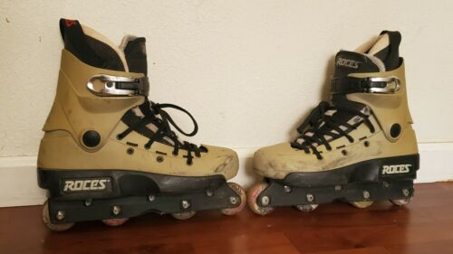 Roces Khuti Aggressive Inline Skates With 55mm 88A Senate Wheels,Size 9.5 to 10