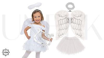 Angel / Fairy Wings, Halo & Tutu - Christmas Fancy Dress  (Angel Wings Halo)