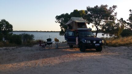 TOYOTA LANDRCRUISER PRADO WITH ROOF TOP TENT AND FULL EQUIPMENT