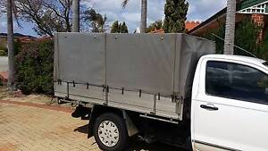Canvas Canopy - Suit Single Cab Hilux or Similar Leeming Melville Area Preview