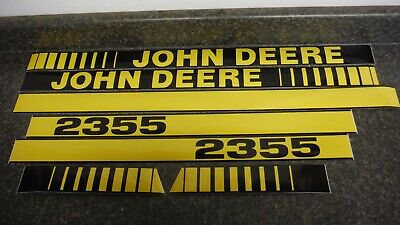 John Deere 2355 Tractor Decals. Hood Numbers Only. See Details Pictures