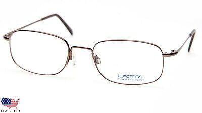 LUXOTTICA 6502 3004 BROWN EYEGLASSES GLASSES FRAME 53-19-140mm (DISPLAY (Glasses Luxottica)