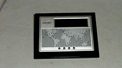 Seiko Executive Desk World Time Digital Clock/Calendar