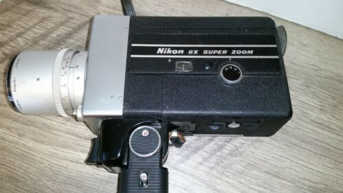 Vintage Nikon 8X Super Zoom Camera Japan 7.5-60mm Cine-Nikkor UNTESTED