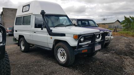 HZJ75 Toyota Landcruiser 4x4 camper with the 1HZ.Heaps of extras.
