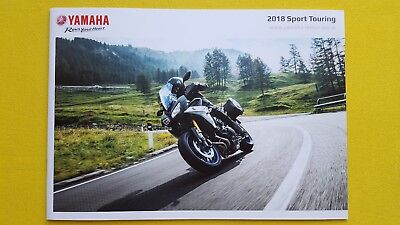 Yamaha Sport Touring FJR Tracer 700 1300 AE motorcycle bike brochure 2018 MINT