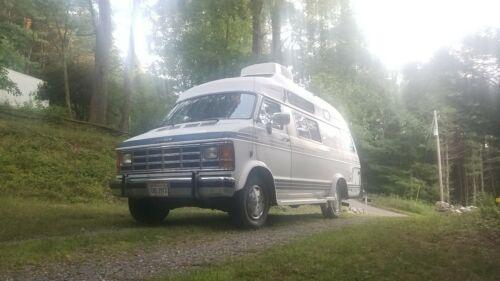 Dodge Conversion Van >> 1989 Dodge Xplorer Camper Van Class B Rv Explorer Conversion Van Motor Home