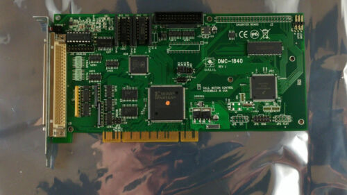 GALIL DMC-1840 MULTI-AXIS MOTION CONTROLLER PCI BOARD.