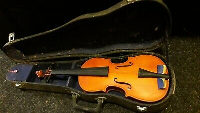 Vintage Violin With Case - Only One String, Needs Some TLC - CHECK PICS & DESC!!