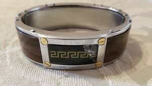 VERSACE Stainless Steel Bracelet for Men---in the Best Condition