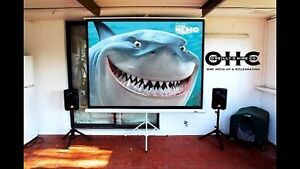 """100"""" Full HD Indoor Cinema Hire Perth - O'Reilly's Hire Co. Kelmscott Armadale Area Preview"""