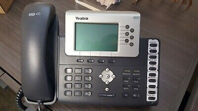 Yealink Sip-t28p Ip Voip Display Phone Poe - Hd Voice