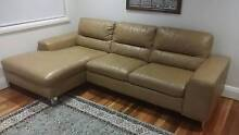 Nick Scali premium leather chaise lounge Maroubra Eastern Suburbs Preview